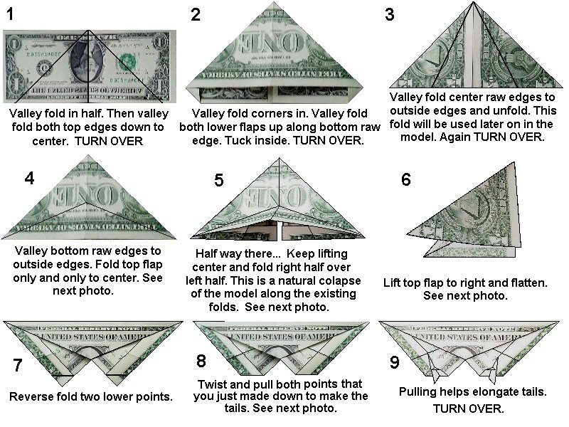 Dollar Bill Animals in Origami Second Revised Edition